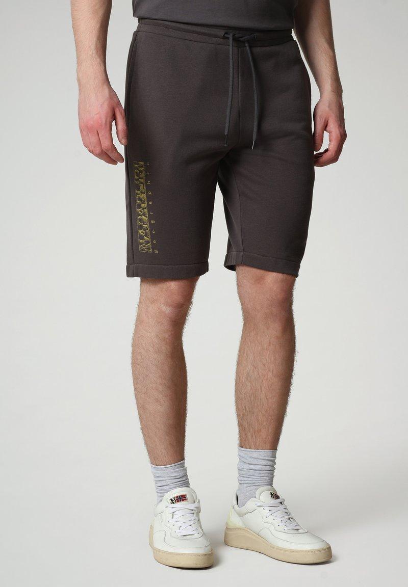 Napapijri - NALLAR - Shorts - dark grey solid