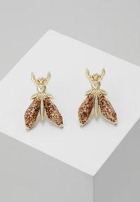 Patrizia Pepe - ORECCHINI PRECIOUS FLY MINI - Earrings - glitter red - 0
