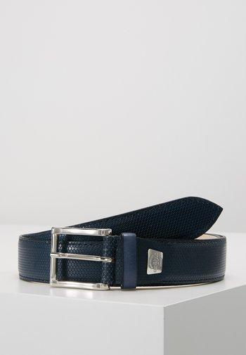 Belt - favo bouvier navy
