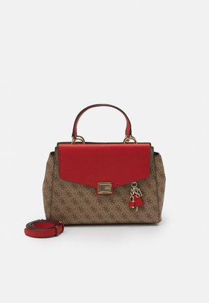 HANDBAG VALY LARGE GIRLFRIEND SATCHEL - Borsa a mano - rust