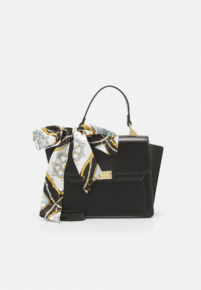 Pieces - PCOLIVE CROSS BODY  - Handbag - black/gold
