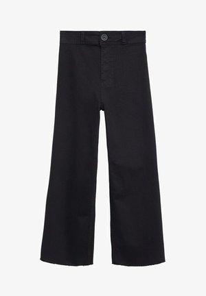 Bootcut jeans - black denim