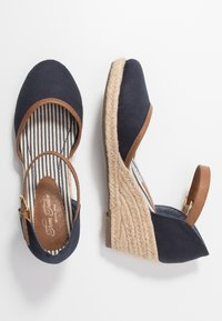TOM TAILOR - Wedges - navy - 3