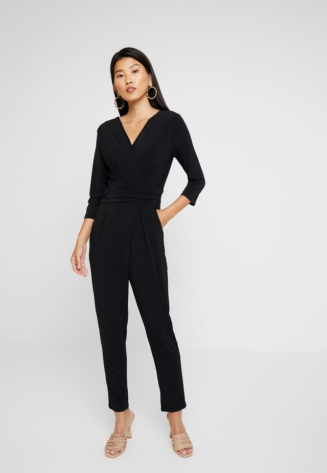 NEW - Overall / Jumpsuit /Buksedragter - black