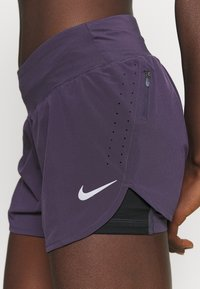 Nike Performance - ECLIPSE SHORT - Urheilushortsit - dark raisin - 4