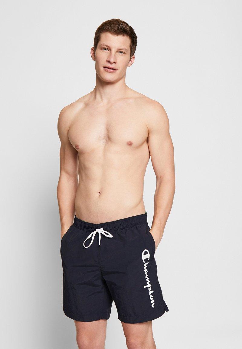 Champion - BEACHSHORT LEGACY - Swimming shorts - navy