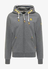 Schmuddelwedda - Zip-up sweatshirt - steingrau melange - 4