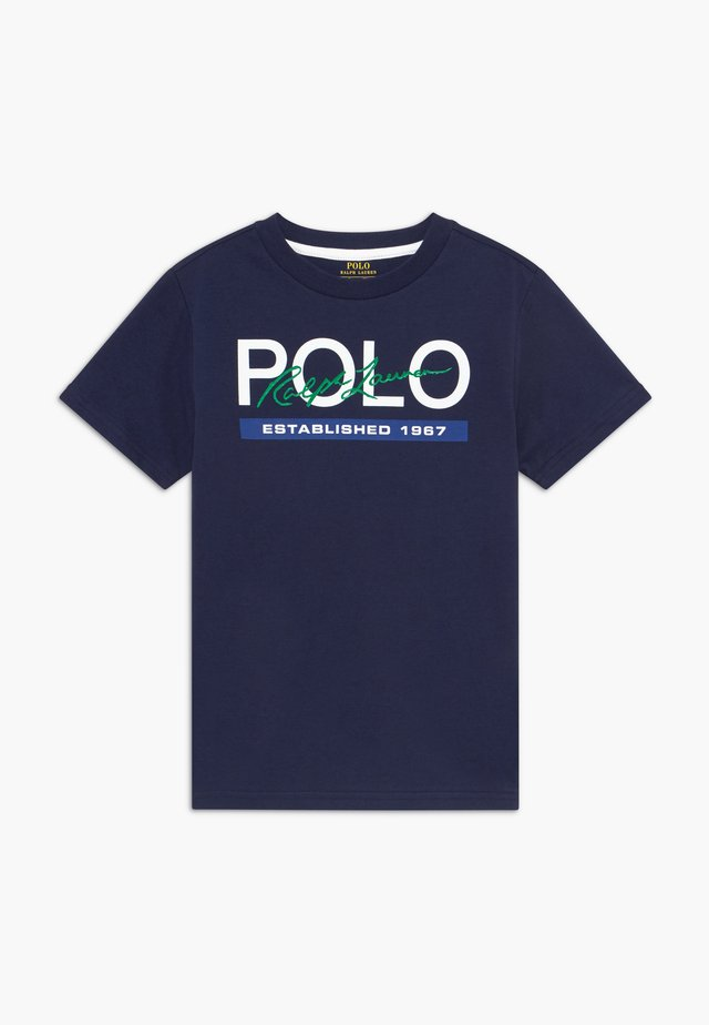 T-shirt con stampa - newport navy