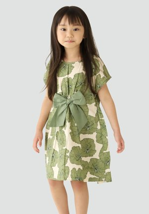 FRENCH  - Day dress - evergreen