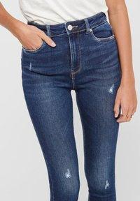 ONLY - ONLMILA - Jeans Skinny Fit - dark blue denim - 3