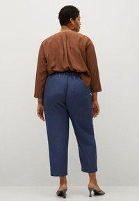 Violeta by Mango - COTILI8 - Trousers - dark navy - 2