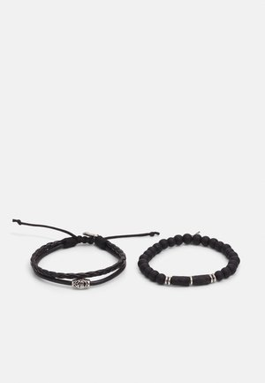 VOLCANIC BRACELET COMBO 2 PACK - Bracelet - black