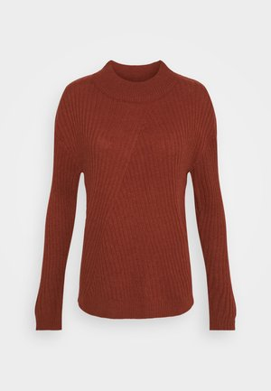 JDYZOFRA STRUCTURE - Jumper - russet brown