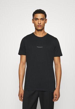 ETHAN PRINT TEE - T-shirt print - black