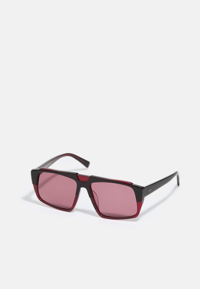 UNISEX - Sluneční brýle - black/wine