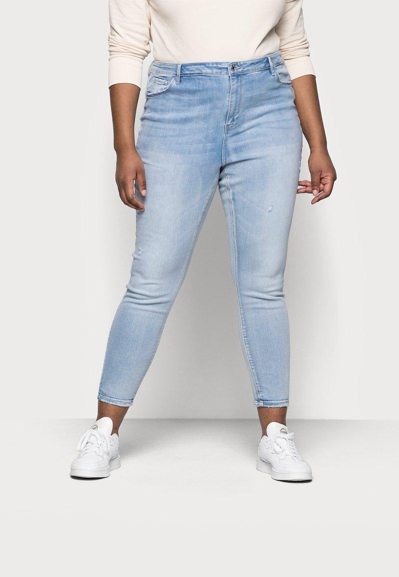 Vero Moda Curve - VMSOPHIA - Jeans Skinny Fit - light blue denim