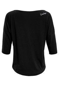 Winshape - 3/4 ULTRA LIGHT MCS001 - Long sleeved top - black/glitter/white - 4