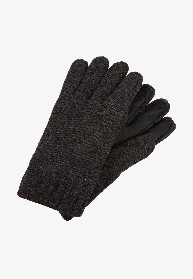 Marc O'Polo - GLOVES WITH TOUCH SCREEN FINGER - Gloves - dark grey melange