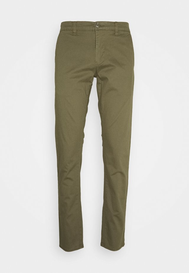 MACARL - Chino kalhoty - ivy green