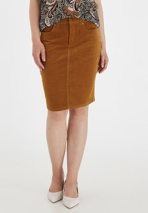 Pencil skirt - cathay spice