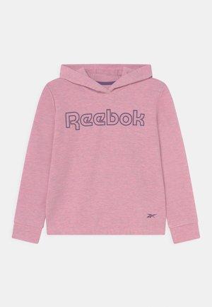 CROPPED HOODIE - Long sleeved top - light pink