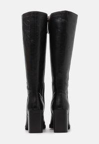 ASRA - KINGDOM - Boots med høye hæler - black - 3