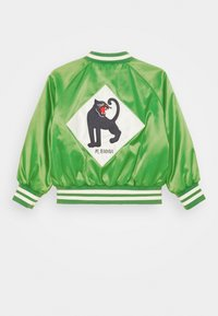 Mini Rodini - PANTHER BASEBALL JACKET UNISEX - Lehká bunda - green - 1