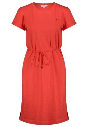 COOL SHORT DRESS - Jersey dress - orange (33)
