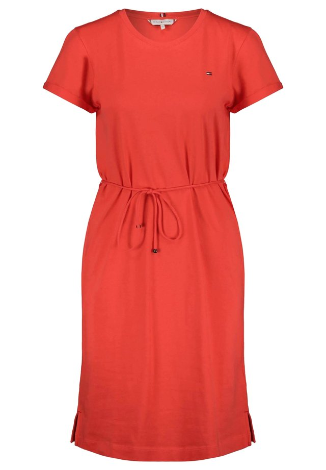 ANGELA REGULAR DRESS - Jersey dress - orange (33)