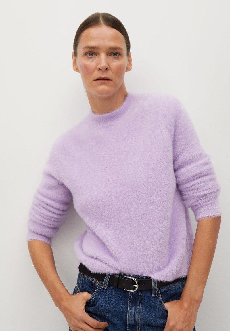 Mango - COPO - Jumper - violet clair/pastel
