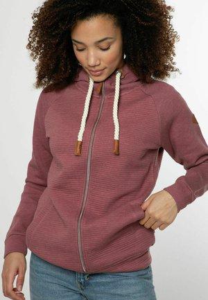 GRACYE - Zip-up sweatshirt - petal pink