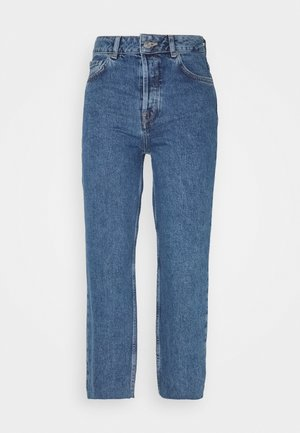 SLFKATE STRAIGHT CRUZ - Relaxed fit jeans - medium blue denim