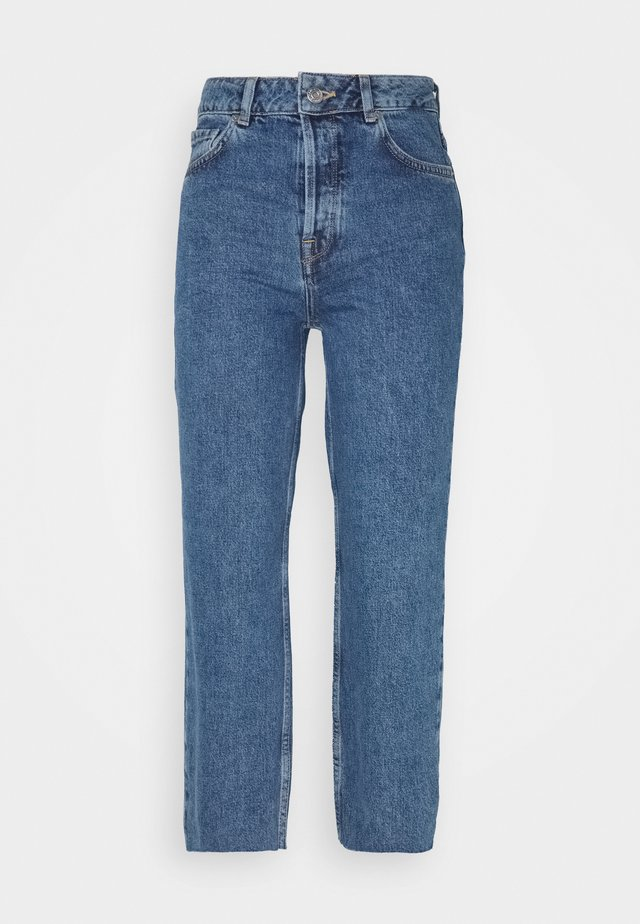 SLFKATE STRAIGHT CRUZ - Jean boyfriend - medium blue denim