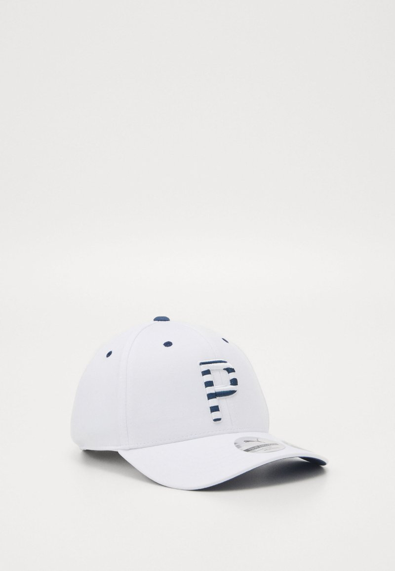Puma Golf - STRIPES - Lippalakki - bright white
