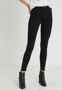 Scotch & Soda - HAUT - Slim fit jeans - stay black - 0