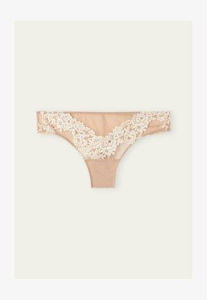 PRETTY FLOWERS - Thong - soft beige/ivory