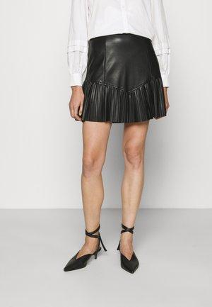 ELISABETH SKIRT - Spódnica mini - jet black