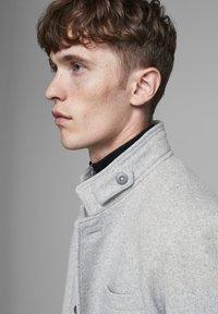 Jack & Jones PREMIUM - Classic coat - light grey melange - 3