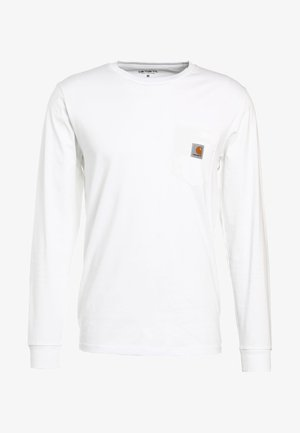 POCKET  - T-shirt à manches longues - white
