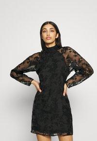 Gina Tricot - YLVA DRESS - Cocktailjurk - black - 0