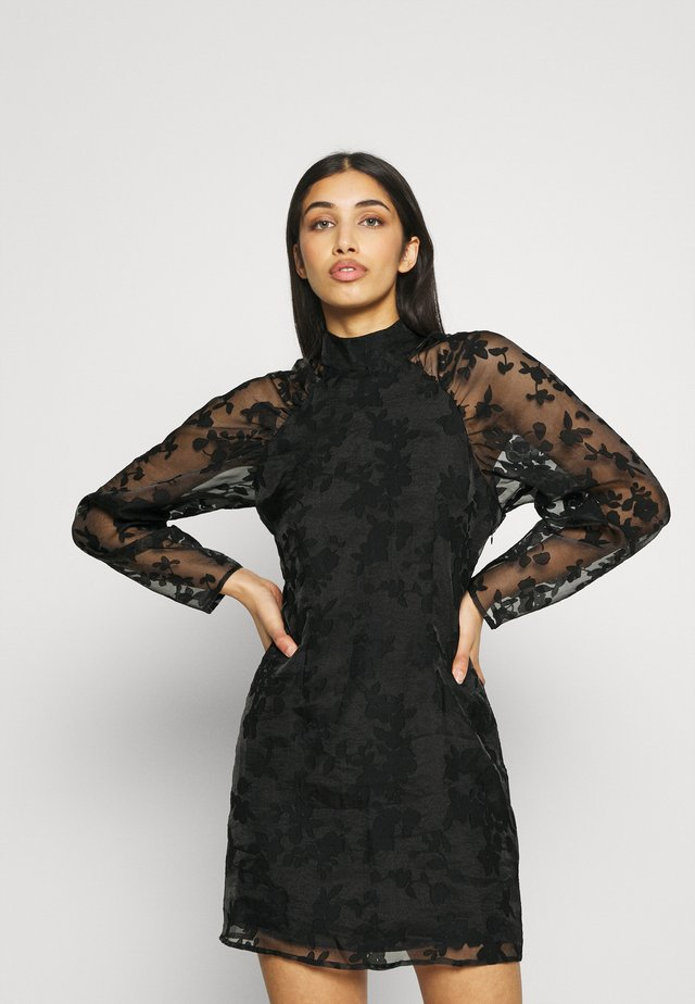 YLVA DRESS - Cocktailjurk - black