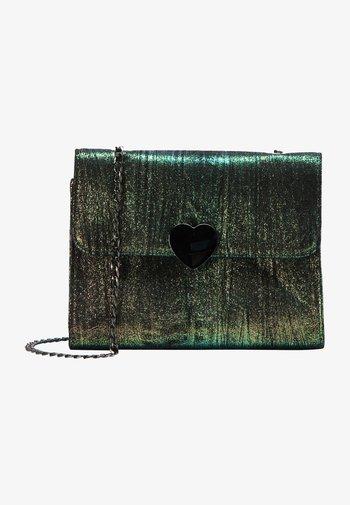 Across body bag - grün multicolor