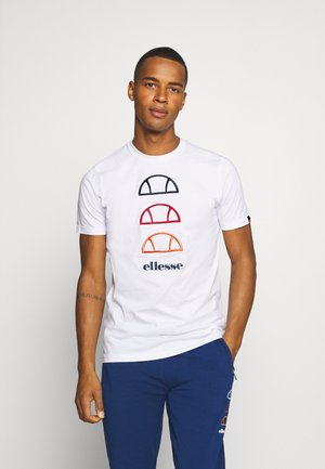 FEVER - T-shirt med print - white