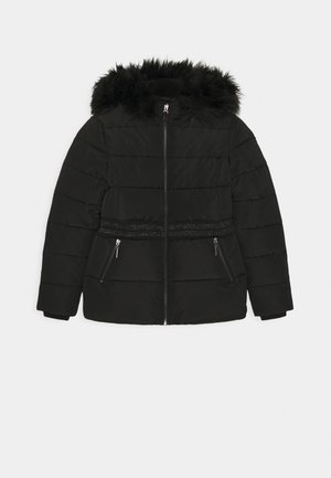MIDI - Winter coat - black