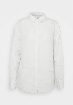 KIMBERLY SHIRT - Button-down blouse - lime cream