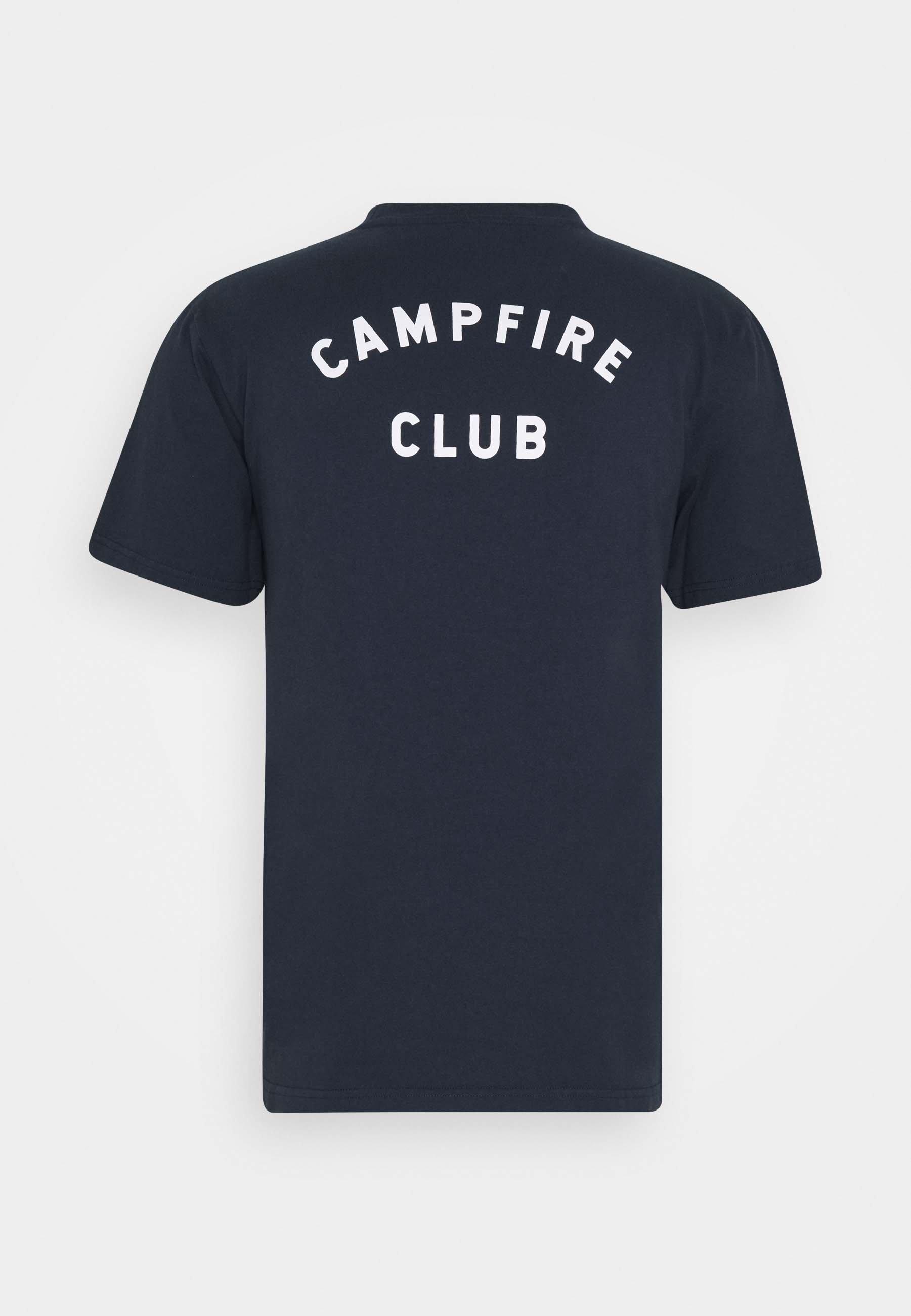 forét HEAT - T-shirt imprimé - navy
