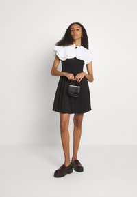 Sister Jane - POSTCARD CONFESSIONS MINI DRESS - Day dress - black - 1