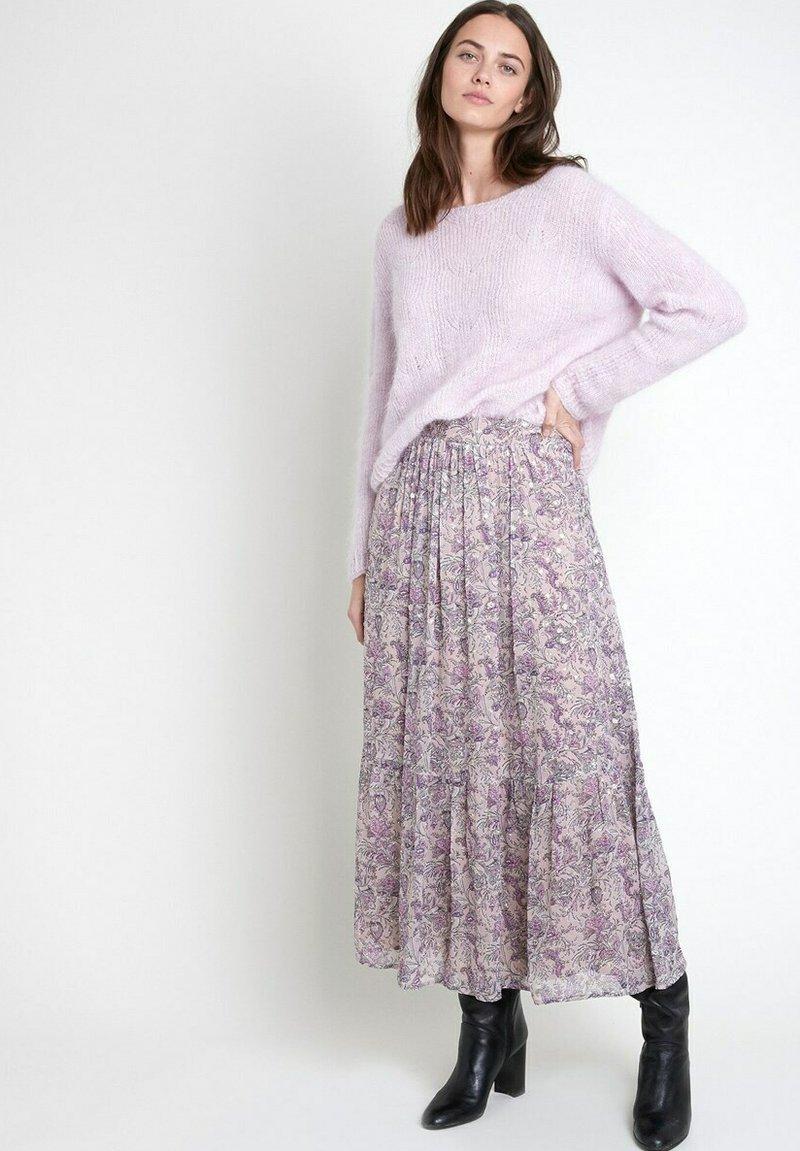 Maison 123 - A-line skirt - mauve