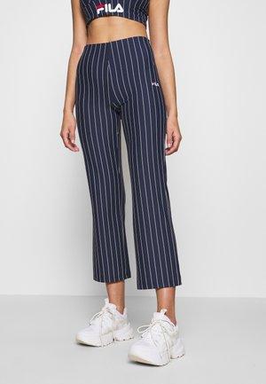 SANNE - Spodnie materiałowe - black iris