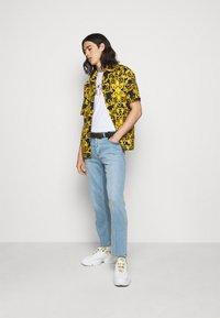 Versace Jeans Couture - LOGO BAROQUE - Shirt - black - 1